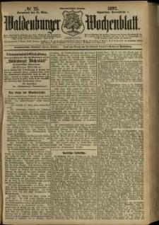 Waldenburger Wochenblatt, Jg. 38, 1892, nr 25
