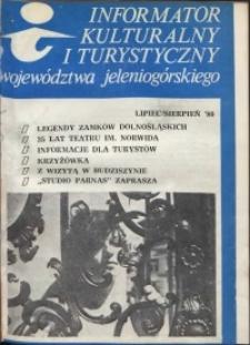 Informator Kulturalny i Turystyczny Województwa Jeleniogórskiego, 1980, nr 7-8