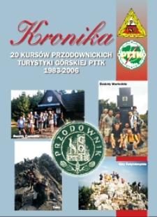 Kronika 20 Ogólnopolskich Kursów Nauczycieli - Kandydatów na Przodowników Turystyki Górskiej PTTK [Dokument elektroniczny]