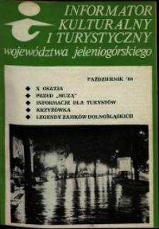 Informator Kulturalny i Turystyczny Województwa Jeleniogórskiego, 1980, nr 10