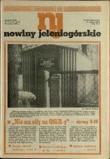 Nowiny Jeleniogórskie : tygodnik PZPR, R. 31, 1988, nr 35 (1550!)
