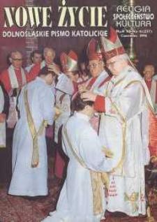 Nowe Życie: dolnośląskie pismo katolickie: religia, kultura, społeczeństwo, 1994, nr 6 (237)
