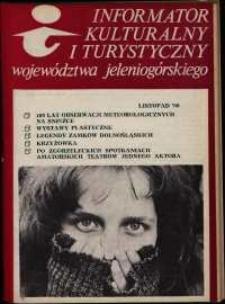 Informator Kulturalny i Turystyczny Województwa Jeleniogórskiego, 1980, nr 11