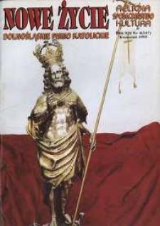 Nowe Życie: dolnośląskie pismo katolickie: religia, kultura, społeczeństwo, 1995, nr 4 (247)