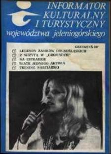 Informator Kulturalny i Turystyczny Województwa Jeleniogórskiego, 1980, nr 12