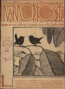 Karkonosze : Informator Kulturalny i Turystyczny Województwa Jeleniogórskiego, 1985, nr 1 (89)