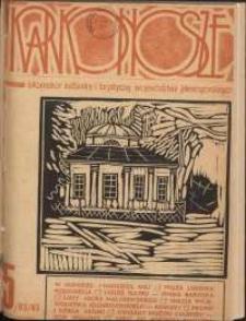 Karkonosze : Informator Kulturalny i Turystyczny Województwa Jeleniogórskiego, 1985, nr 5 (93)