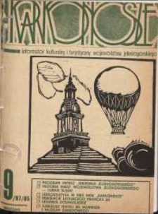 Karkonosze : Informator Kulturalny i Turystyczny Województwa Jeleniogórskiego, 1985, nr 9 (97)