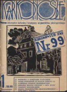 Karkonosze : Informator Kulturalny i Turystyczny Województwa Jeleniogórskiego, 1985, nr 11 (99)