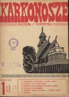 Karkonosze : Kultura i Turystyka, 1986, nr 1 (101)