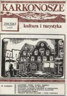 Karkonosze : Kultura i Turystyka, 1987, nr 2 (114)