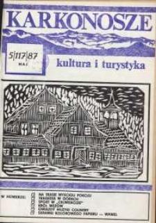 Karkonosze : Kultura i Turystyka, 1987, nr 5 (117)