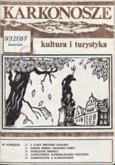Karkonosze : Kultura i Turystyka, 1987, nr 9 (121)