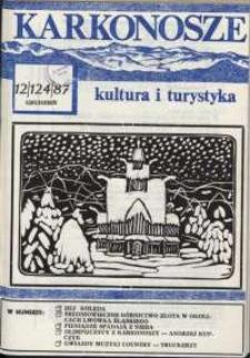 Karkonosze : Kultura i Turystyka, 1987, nr 12 (124)