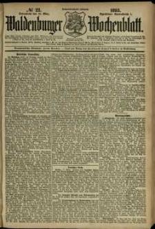 Waldenburger Wochenblatt, Jg. 39, 1893, nr 22