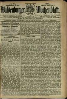 Waldenburger Wochenblatt, Jg. 39, 1893, nr 24
