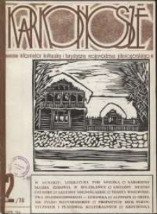 Karkonosze: Informator Kulturalny i Turystyczny Województwa Jeleniogórskiego, 1984, nr 2 (78)