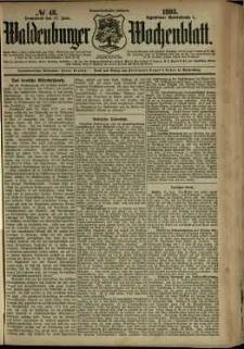 Waldenburger Wochenblatt, Jg. 39, 1893, nr 48