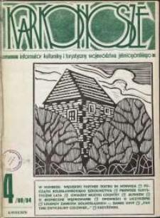 Karkonosze: Informator Kulturalny i Turystyczny Województwa Jeleniogórskiego, 1984, nr 4 (80)