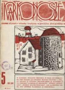 Karkonosze: Informator Kulturalny i Turystyczny Województwa Jeleniogórskiego, 1984, nr 5 (81)