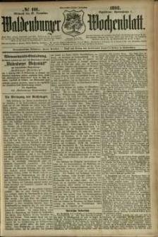 Waldenburger Wochenblatt, Jg. 39, 1893, nr 101