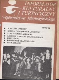 Informator Kulturalny i Turystyczny Województwa Jeleniogórskiego, 1981, nr 2