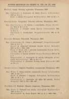Materiały Metodyczne, 1961, Wybór recenzji za okres 16 VII - 30 XI 1961 r.