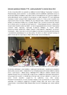 """Zebranie opłatkowe Oddziału PTTK """"Sudety Zachodnie"""" w Jeleniej Górze [Dokument elektroniczny]"""