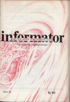 Informator Kulturalny i Turystyczny Województwa Jeleniogórskiego, 1981, nr 5 (51)