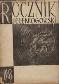Rocznik Jeleniogórski, T. 1 (1963)