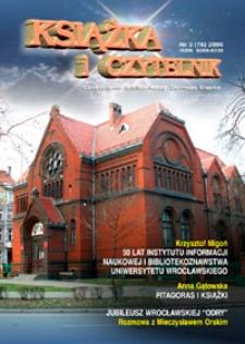 Książka i Czytelnik : czasopismo bibliotekarzy Dolnego Śląska, 2006, nr 3 (76)