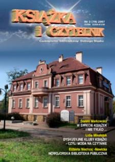 Książka i Czytelnik : czasopismo bibliotekarzy Dolnego Śląska, 2007, nr 3 (79)