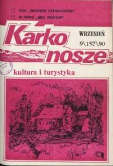 Karkonosze: Kultura i Turystyka, 1990, nr 9 (157)