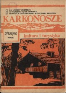 Karkonosze: Kultura i Turystyka, 1990, nr 3 (151)