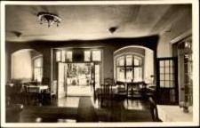 Karpacz Górny - wnętrze hotelu uzdrowiskowego Weidmannsheil Joha Gierona [Dokument ikonograficzny]
