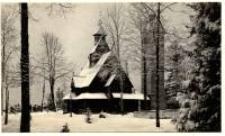 Karpacz Górny - Kościół Wang w scenerii zimowej [Dokument ikonograficzny]