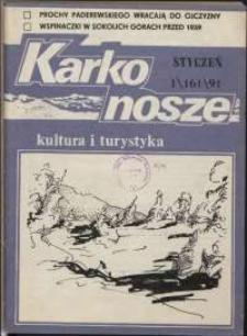 Karkonosze: Kultura i Turystyka, 1991, nr 1 (161)