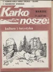 Karkonosze: Kultura i Turystyka, 1991, nr 3 (163)