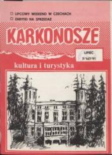 Karkonosze: Kultura i Turystyka, 1991, nr 7 (167)