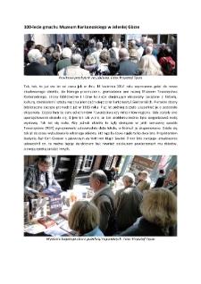 100-lecie gmachu Muzeum Karkonoskiego w Jeleniej Górze [Dokument elektroniczny]
