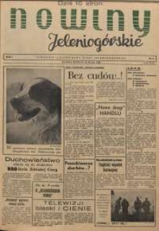 Nowiny Jeleniogórskie : tygodnik ilustrowany ziemi jeleniogórskiej, R. 1, 1958, nr 6
