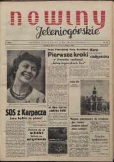 Nowiny Jeleniogórskie : tygodnik ilustrowany ziemi jeleniogórskiej, R. 1, 1958, nr 10