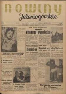 Nowiny Jeleniogórskie : tygodnik ilustrowany ziemi jeleniogórskiej, R. 1, 1958, nr 13