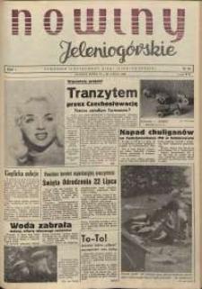 Nowiny Jeleniogórskie : tygodnik ilustrowany ziemi jeleniogórskiej, R. 1, 1958, nr 16