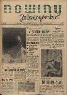 Nowiny Jeleniogórskie : tygodnik ilustrowany ziemi jeleniogórskiej, R. 1, 1958, nr 19