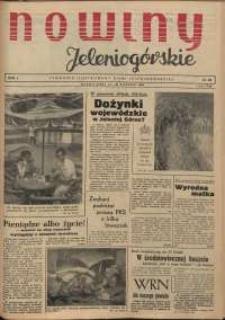Nowiny Jeleniogórskie : tygodnik ilustrowany ziemi jeleniogórskiej, R. 1, 1958, nr 20