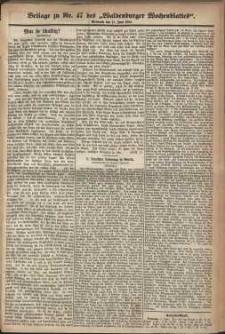 Waldenburger Wochenblatt, Jg. 30, 1884, nr 47