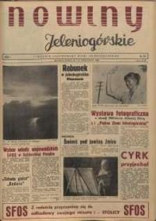 Nowiny Jeleniogórskie : tygodnik ilustrowany ziemi jeleniogórskiej, R. 1, 1958, nr 24