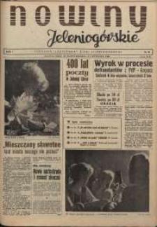 Nowiny Jeleniogórskie : tygodnik ilustrowany ziemi jeleniogórskiej, R. 1, 1958, nr 31