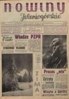 Nowiny Jeleniogórskie : tygodnik ilustrowany ziemi jeleniogórskiej, R. 1, 1958, nr 38